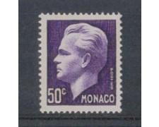 1950 - LOTTO/8605AL - MONACO - 50c. VIOLETTO RANIERI III°