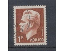 1950 - LOTTO/8605BU - MONACO - 1 Fr. BRUNO RANIERI III° - USATO