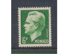 1951 - LOTTO/8609A - MONACO - 6 Fr. VERDE - RANIERI III°