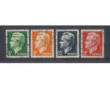 1951 - LOTTO/8609U - MONACO - RANIERI III° 4v. USATI