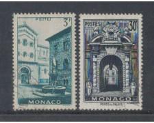 1951 - LOTTO/8610U - MONACO - VEDUTE 2v. USATI