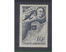 1946 - LOTTO/8587HU - MONACO - 10 Fr. POSTA AEREA - USATO