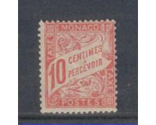1905 - LOTTO/4954T3 - MONACO - 10c. ROSA SEGNATASSE