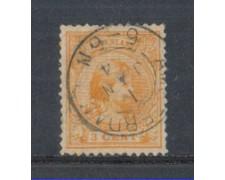 1891 - LOTTO/3586AU - OLANDA - 3c. ARANCIO - USATO