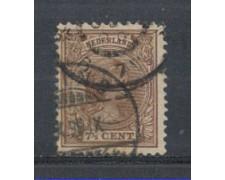 1891 - LOTTO/3586CU - OLANDA - 7,5c. BRUNO - USATO