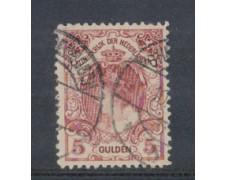 1898 - LOTTO/4005QU - OLANDA - 5g. LILLA BRUNO - USATO