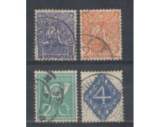 1923 - LOTTO/8638U - OLANDA - SOGGETTI VARI 4v. - USATI