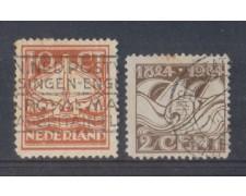 1924 - LOTTO/8646U - OLANDA - BATTELLI DI SALVATAGGIO - USATI