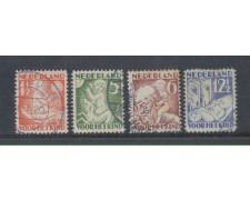 1930 - LOTTO/8661U - OLANDA - PRO INFANZIA 4v. - USATI
