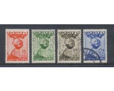 1935 - LOTTO/8678U - OLANDA - PRO INFANZIA 4v. - USATI