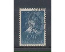 1937 - LOTTO/8684EU - OLANDA - 12,5c. BENEFICENZA - USATO
