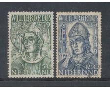 1939 - LOTTO/8690U - OLANDA - S.WILLIBRORD 2v. USATI