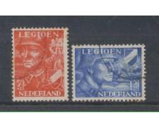 1942 - LOTTO/8701U - OLANDA - PRO LEGIONE OLANDESE - USATI