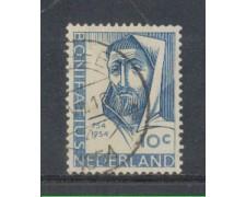 1954 - LOTTO/8748U - OLANDA - SAN BONIFACIO - USATO