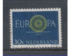 1960 - LOTTO/8778BU - OLANDA - 30c. EUROPA - USATO