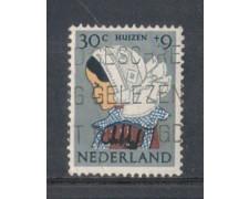 1960 - LOTTO/8779EU - OLANDA - 30+9c. PRO INFANZIA - USATO