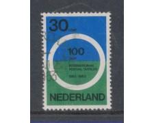 1963 - LOTTO/8792U - OLANDA - CONFERENZA POSTALE - USATO