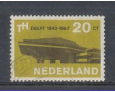 1967 - LOTTO/8818U - OLANDA - UNIVERSITA' DI DELFT - USATO