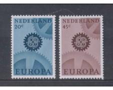1967 - LOTTO/8820 - OLANDA - EUROPA 2v.