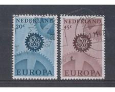 1967 - LOTTO/8820U - OLANDA - EUROPA 2v. - USATI