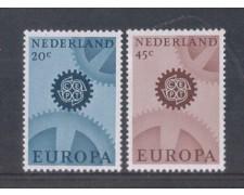 1967 - LOTTO/8821 - OLANDA - EUROPA 2v. FLUORESCENTI