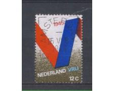1970 - LOTTO/8844U - OLANDA - ANNIVERSARIO LIBERAZIONE - USATO