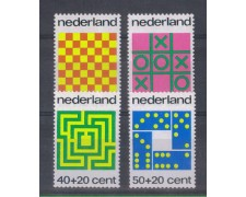 1973 - LOTTO/8870 - OLANDA - PRO INFANZIA 4v.