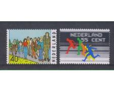 1976 - LOTTO/8895 - OLANDA - SERIE SPORTIVA 2v.