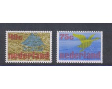 1976 - LOTTO/8898 - OLANDA - PROGETTO ZUIDERSEE 2v.
