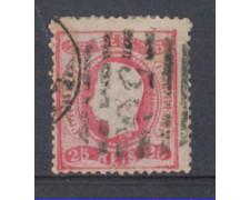 1870 - LOTTO/9632AU - PORTOGALLO - 25r. ROSA - USATO