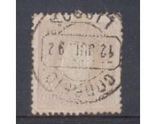 1870 - LOTTO/9636AU - PORTOGALLO - 100r. LILLA - USATO