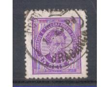 1882 - LOTTO/9644FU - PORTOGALLO - 25r. LILLA - USATO