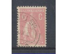 1917 - LOTTO/9666IBU - PORTOGALLO - 6c. ROSA - USATO