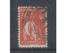 1917 - LOTTO/9666WBU - PORTOGALLO - 36c. ROSSO - USATO