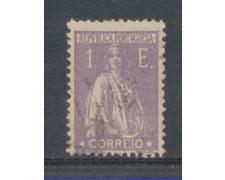 1917 - LOTTO/9667BU - PORTOGALLO - 1e. VIOLETTO - USATO