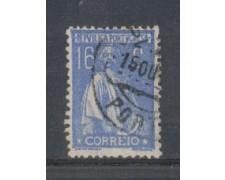 1923 - LOTTO/9669FU - PORTOGALLO - 16c. OLTREMARE - USATO