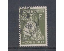1923 - LOTTO/9669ZU - PORTOGALLO - 3,20e. VERDE OLIVA - USATO