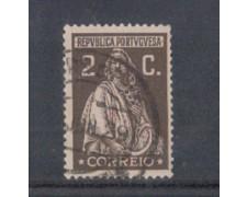 1926 - LOTTO/9679AU - PORTOGALLO - 2c. BRUNO LILLA - USATO