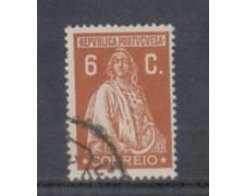 1926 - LOTTO/9679EU - PORTOGALLO - 6c. BRUNO GIALL. - USATO