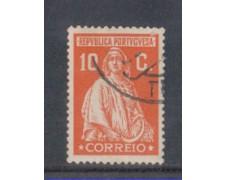 1926 - LOTTO/9679FU - PORTOGALLO - 10c. ROSSO - USATO
