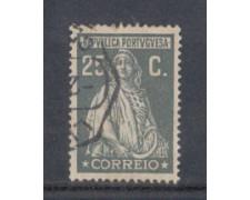 1926 - LOTTO/9679IU - PORTOGALLO - 25c. GRIGIO - USATO