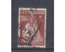 1926 - LOTTO/9679SU - PORTOGALLO  - 1e. LILLA - USATO