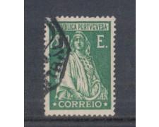 1926 - LOTTO/9679VU - PORTOGALLO - 2e. VERDE - USATO