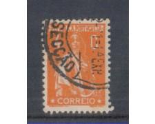 1930 - LOTTO/9687AU - PORTOGALLO - 4c. ARANCIO - USATO