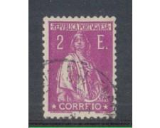 1930 - LOTTO/9687PU - PORTOGALLO - 2e. VIOLETTO - USATO