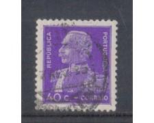 1934 - LOTTO/9693U - PORTOGALLO - 40c. GEN. CARMONA - USATO