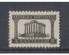 1935 - LOTTO/9696A - PORTOGALLO - 4c. NERO - NUOVO