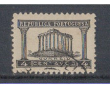 1935 - LOTTO/9696AU - PORTOGALLO - 50c. NERO - USATO