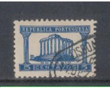 1935 - LOTTO/9696BU - PORTOGALLO - 5c. AZZURRO - USATO
