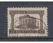 1935 - LOTTO/9696CU - PORTOGALLO - 6c. BRUNO - USATO